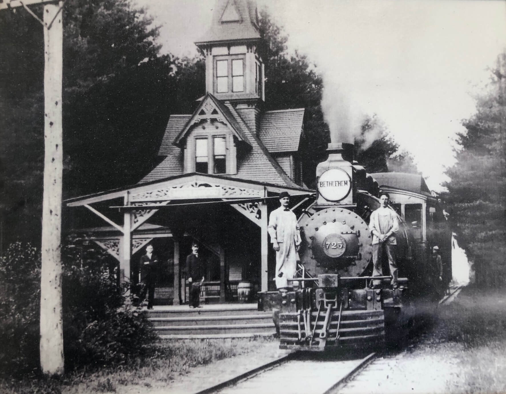 Maplewood Station in the 1800s